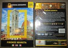 Firenze segreta National Geographic 90 min DVD *NUOVO SIGILLATO*