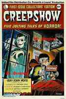 Movie Poster Creepshow Horror Film Stephen King 1980's Scary Terror Nostalgic