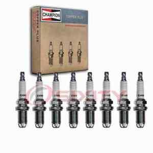 8 pc Champion Copper Plus Spark Plugs for 2002-2004 Volkswagen Passat 4.0L yf