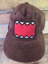 DOMO Fuzzy Snapback Adjustable Adult Hat Cap
