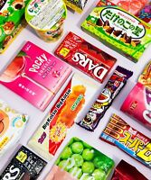 ♡ Japanese Snack Box - 30 Pieces Box ♡ Chocolate Exotic Dagashi Candy Japan