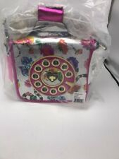 $108 Betsey Johnson off the hook cross body phone B3