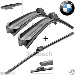 COPPIA SPAZZOLE TERGICRISTALLI BOSCH ANT.+ POST. BMW Serie 3 SW (F31) dal 2012 >