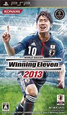 Used PSP World Soccer Winning Eleven 2013 Import Japan