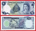 CAIMAN CAYMAN ISLANDS 1 Dollar dolar L. 1971 A/1 Pick 1a SC / UNC