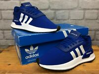 ADIDAS ORIGINALS WOMENS UK 4 EU 36.5 U_PATH RUN X BLUE WHITE TRAINERS RRP £70 K