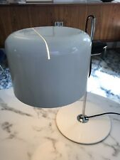 JOE COLOMBO - COUPE LAMP - OLUCE - White - Rare - Kartell Panton eames