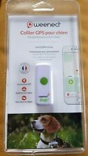 Collier GPS Weenect pour chien neuf