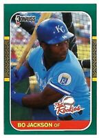 "BO JACKSON 1987 DONRUSS, ""The Rookies"", #14 ROOKIE RC, KANSAS CITY ROYALS"