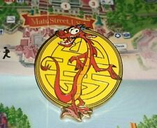 Disney Pin Paris DLP Disneyland Cast Member Refresh Lanyard Mulan Dragon Mushu