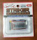 Striker Spy Drone Battery World Tech Toys Rechargeable 3.7V 500mAh Spare Battery