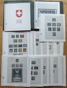 Lindner Ringbinder(Grün) 43 CH-Vordruckblätter(1990-2000)KG2806, tolle Erhaltung