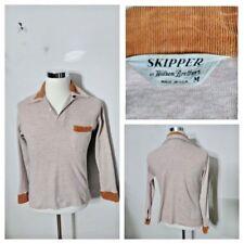 Skipper Willson Brothers 1950's Trimmed Corduroy Shirt Mens M Split V inv#s8301