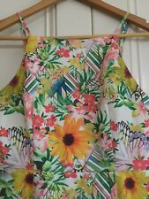 Mika And Gala Size 10 Floral Dress