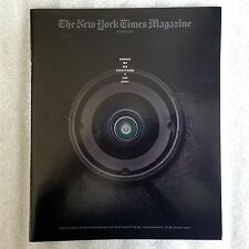 The New York Times Magazine OCTOBER 23RD Cop Body Cams NYT Back Issue 10-23-2016
