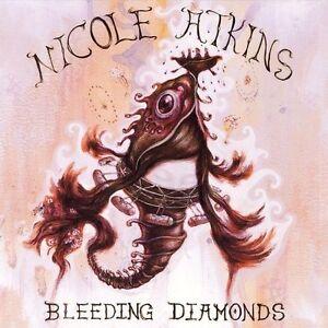 Bleeding Diamonds by Nicole Atkins (CD, 2006, Red ink/Columbia)