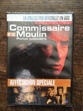 COMMISSAIRE MOULIN .. DVD N°42 .. YVES RENIER, FRANCOIS DE ROUBAIX
