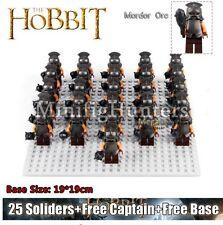 Custom 26pcs Uruk-hai Orc Army Minifigures Lord of the Rings Fits Lego minifgs
