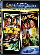 The Incredible Two-Headed Transplant / The Thing with Two Heads  (DVD)  NEW