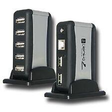 7 Port Hi-Speed Compact USB HUB for Digital Cameras, External Drives, Laptops