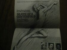 1981 TV Guide(DOROTHY  STRATTEN/DEATH  OF A CENTER FOLD/CODE  RED/LYNDA  CARTER)
