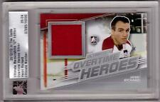 HENRI RICHARD 12/13 ITG Ultimate Overtime Heroes Jersey #d /24 Rare SP Canadiens