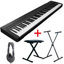 Pianoforte Yamaha P45 Digitale Tasti Pesati Con Supporto Cuffie Panchina OFFERTA