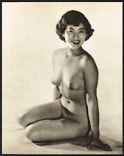 1950s VINTAGE Asian Japanese Female Nude John Everard Photogravure PHOTO PRINT d