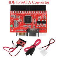 IDE TO SATA Câble de Conversion pour Adaptateur de Disque dur Rouge