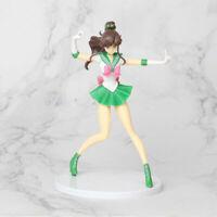 Sailor Moon Sailor Jupiter Makoto Kino Action Figure Cake Topper Home Car Decor