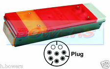 REAR LEFT HAND NEARSIDE TAIL LAMP LIGHT UNIT DAF CF XF WITHOUT NO PLATE LIGHT