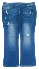 Almost Famous Womens Boot Cut Jeans Plus Size 24