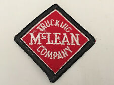 McLean Trucking driver patch corner to corner 2-1/2 X 2-1/2 #2950