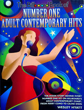 BILLBOARD BOOK OF NUMBER ONE ADULT CONTEMPORARY HITS - 428 PAGE PAPERBACK