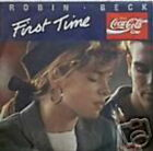 ROBIN BECK 45 TOURS HOLLANDE FIRST TIME (COCA-COLA)
