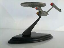 Metal Starship Enterprise Scale Spaceship - Star Trek - 1988 - The Franklin Mint