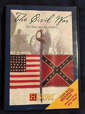 The Civil War - The Story and the Artillery (DVD, History Channel) - D0122