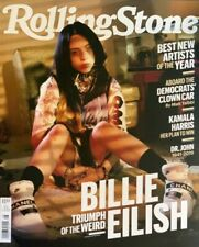 BILLIE EILISH ROLLING STONE MAGAZINE - AUGUST 2019- NEW- NO MAILING LABELS