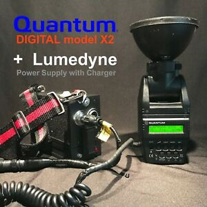 Quantum Instruments Quantum Qflash DIGITAL model X2 + Lumedyne Power Supply set