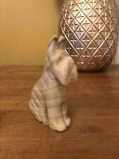 Onyx / Soapstone Scottie Dog Ornament