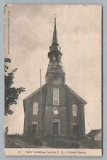 Catholic Church DANVILLE Quebec—Rare Antique CPA Postcard Eglise 1907