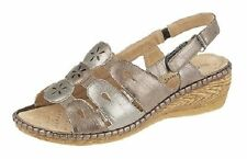 Women's Composition Leather Platforms, Wedge Sandals & Beach Shoes