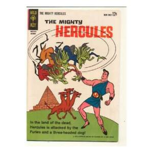 Mighty Hercules #2 in Fine + condition. Gold Key comics [*kg]