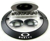 NEW OEM Oakley Black Iridium Lenses 4 Straight Jacket 2.0 Sunglasses Factory 57