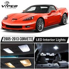 2005-2013 Chevrolet Corvette C6 White LED Interior Lights Package Kit