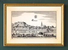 Tübingen Schlossberg Schwäbische Alb SCHWABEN KUPFERSTICH MERIAN FAKSIMILE 16