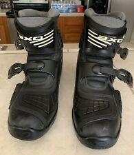 Axo  Slammer Black Atv Boots Mens Size 11 Nice Condition & Clean!