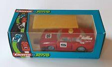 Rara De colección Reedición Carrera Servo 120 BMW 340 ranura de coche nuevo en caja de seguridad del vehículo Rojo