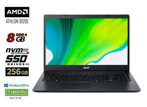 Computer Notebook ACER PC Portatile FULL HD, AMD, RAM 8GB, SSD 256 GB, Win10 PRO