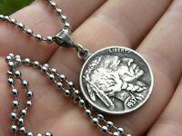 Men Necklace Buffalo Indian Nickel coin nice gift motorcycle biker men women